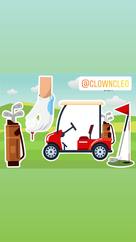 Golf lover yard signs