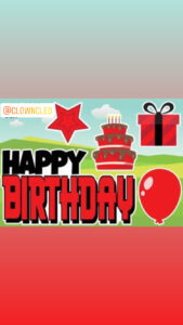 Happy Birthday Lawn Sign red collection