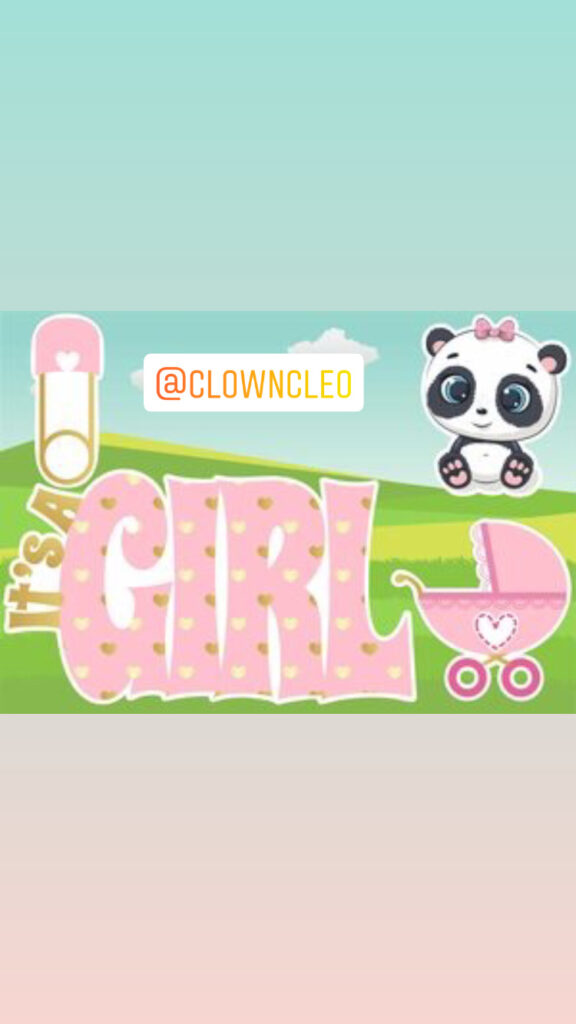 It's A girl Lawn Signs