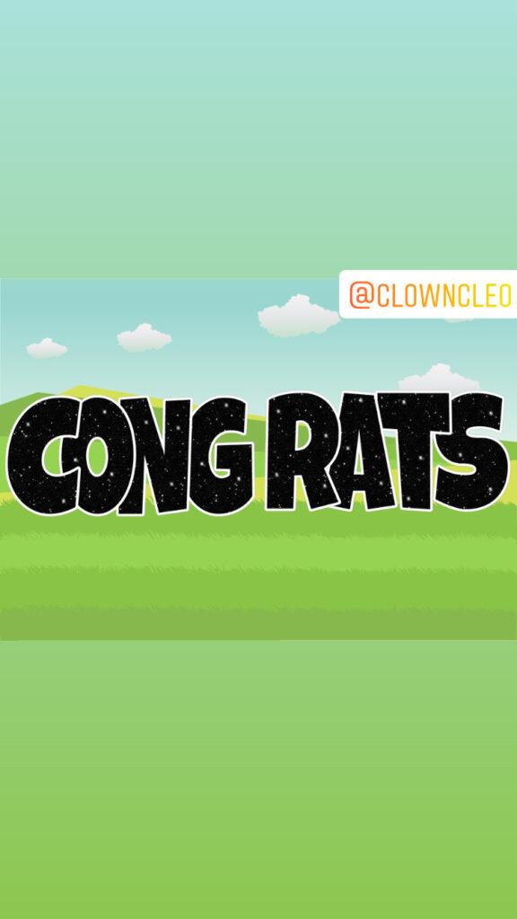 Lawn Signs Congrats