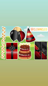 Birthday Lawn Signs accents classic red