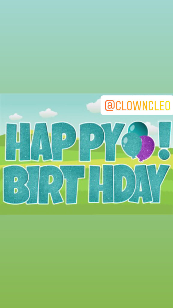 Lawn Signs Happy Birthday letters Teal