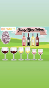 Lawn Signs Fine Like Wine theme set